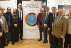 Il past president Andrea Ceccotti e il resto del consiglio